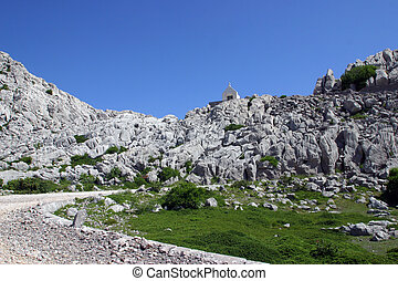 Chapel on mountain Velebit - Croatia