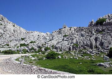 Chapel on mountain Velebit - Croatia