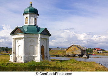 Chapel on Solovki