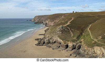 Chapel Porth beach timelapse. - Chapel Porth beach timelapse...