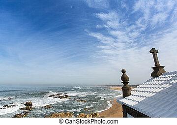 Chapel Senhor da Pedra at Miramar Beach