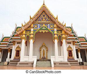 chapelle, de, temple, dans, bangkok