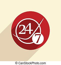 character 24 7.