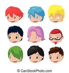 Character Cartoon Hair Head Set