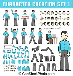 Character creation set