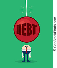 Character Debt Looming - Character with large debt looming ...
