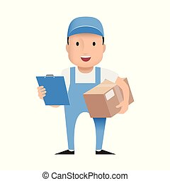 character delivery man