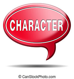 character good or bad attitude or personality