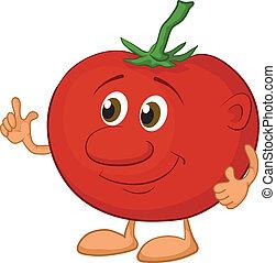 Character tomato