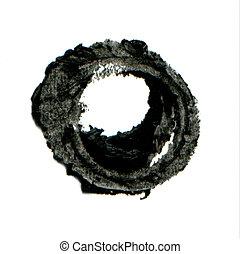 charbon de bois, cadre