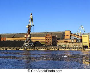 charbon, terminal, ventspils, port