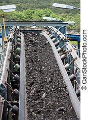 charbon, transport