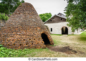 Charcoal kiln in Faeytte Historic Townsite in Upper...