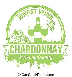 Chardonnay stamp