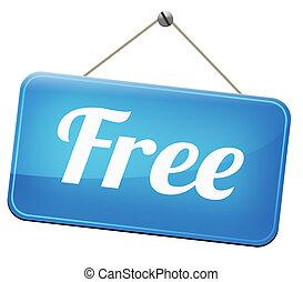 charge, gratuite