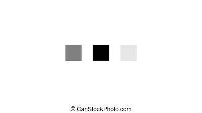 chargement, -, animation, carrée, fond, blanc, icône