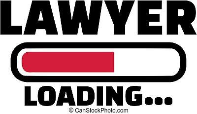 chargement, barre, avocat