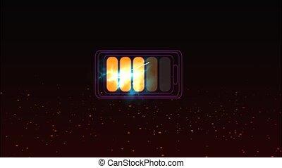 chargeur, batterie, quand, puissance, lithium, max, ion, énergie, ligne, temps