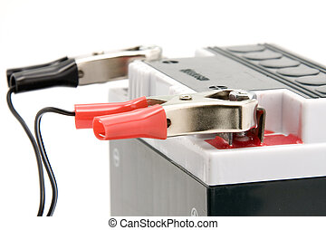 Charging motorcycle battery