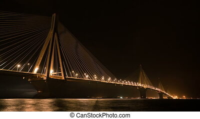Charilaos Trikoupis Bridge, Patra, Greece - Charilaos...