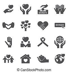 charité, amour, icônes