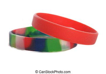charité, wristbands, coupure