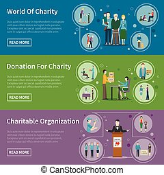 Charity Donation Banners