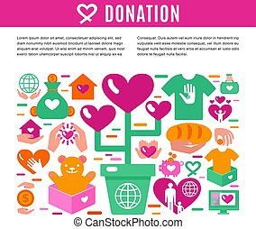 Charity Donation Information Page