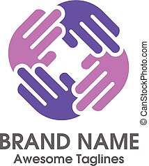 charity hands logo