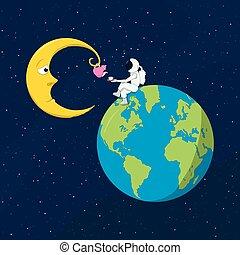 charla, luna