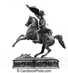 charles, archiduque, estatua