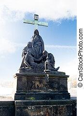 charles most, statua