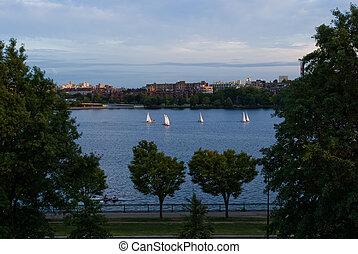 Charles River Sailboats