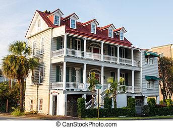 Charleston, histoire, deux,  antebellum
