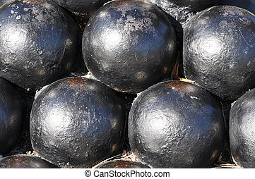 Charleston SC Cannon Ball Statue