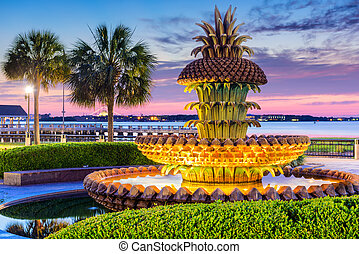 Charleston South Carolina Park - Charleston, South Carolina...