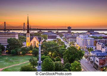 Charleston South Carolina Skyline - Charleston, South ...