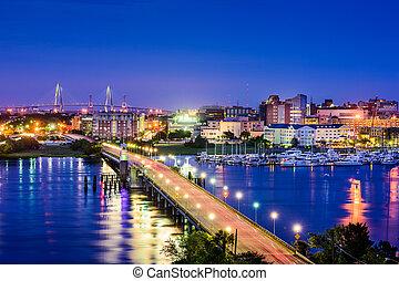 Charleston, South Carolina Skyline
