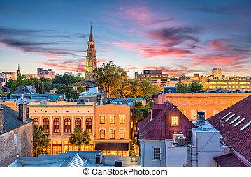 Charleston, South Carolina, USA Skyline