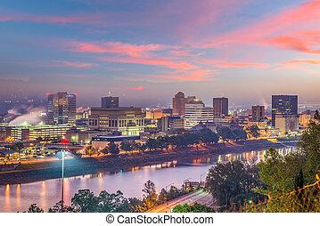 Charleston, West Virginia, USA Skyline