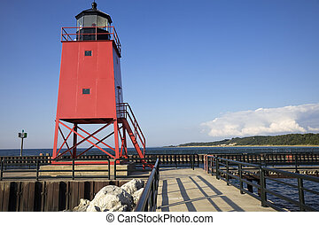 Charlevoix South Pier, Michigan