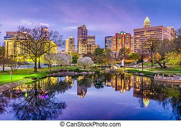 Charlotte, North Carolina Skyline - Charlotte, North ...