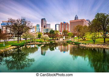 Charlotte North Carolina - Charlotte, North Carolina, USA...