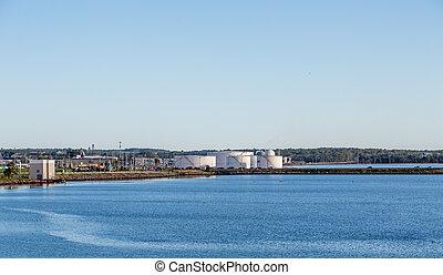 Charlottetown,  Industrial,  Área