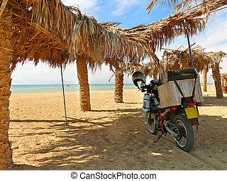 CHARM - EL-SHEIKH, EGYPT - NOVEMBER 7, 2008: Red Sea coast.