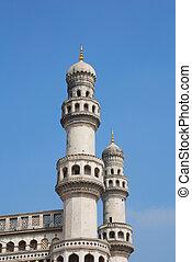 Charminar Hyderabad?s principal landmark built in 1591