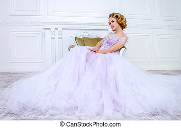 dress with a lush skirt