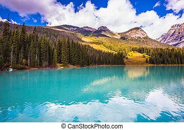 Charming Emerald lake