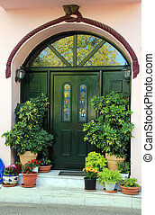 Charming entrance of home