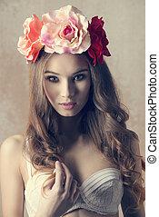charming, flor